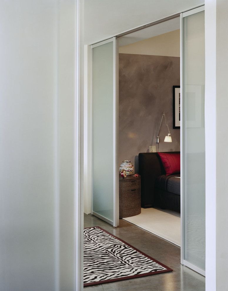 How to Unlock a Bedroom Door for a Modern Bedroom with a Phillipe Stark and Home Office and Bedroom by Kristen Rivoli Interior Design