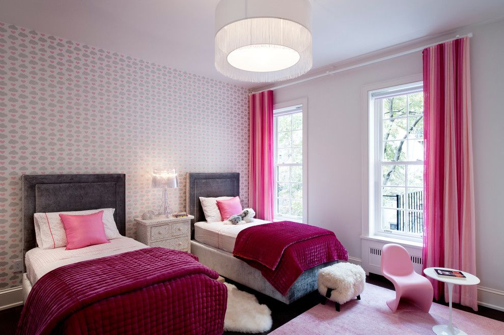 Howell Furniture for a Contemporary Kids with a New York and Upper West Side Townhouse by David Howell Design