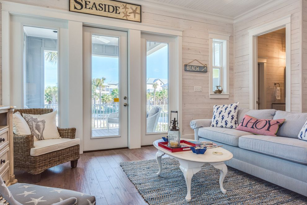 Hpw Real Estate School for a Beach Style Living Room with a Wood Sign and the Cottages at Romar  C1 by Erin E. Kaiser, Kaiser Real Estate Sales, Inc