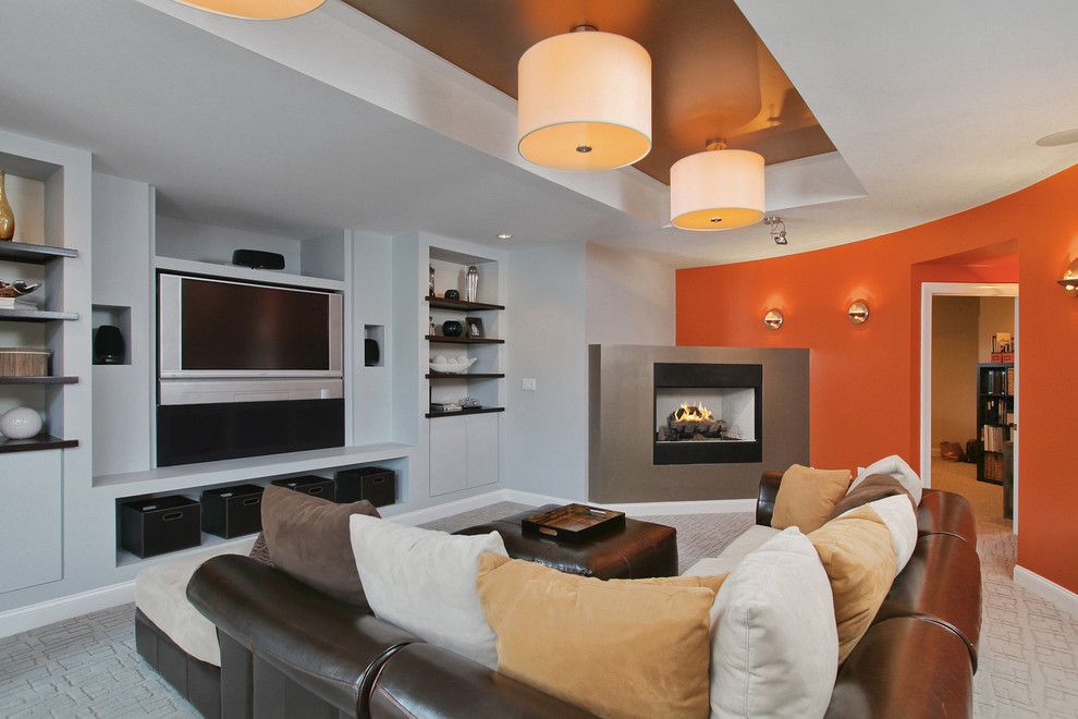 Hpw Real Estate School for a Contemporary Basement with a Beige Throw Pillow and 119 Fox Chase Ct by Nancy Kowalik Real Estate Group