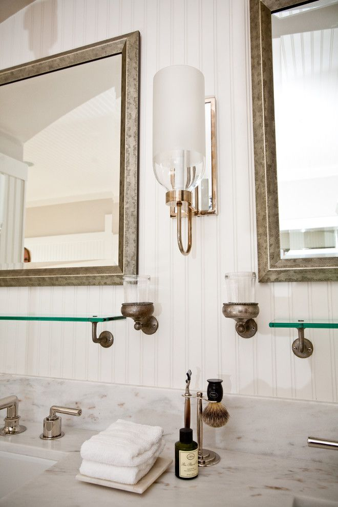 Hunterfan.com for a Eclectic Bathroom with a Urban Electric Company and Andrea May Hunter Gatherer by Andrea May Hunter/gatherer
