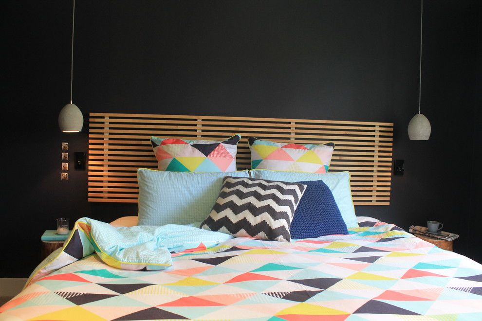 Hunterfan.com for a Eclectic Bedroom with a Timber and Quince Cottage Renovation by Jess Hunter Interior Design & Styling
