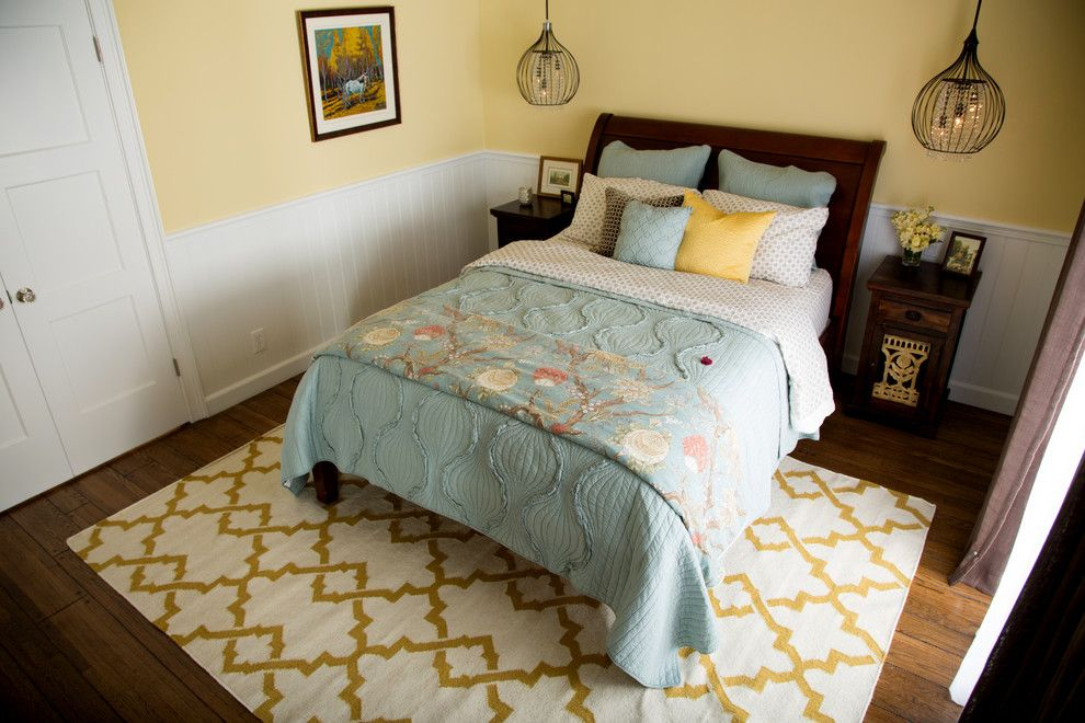Hunterfan.com for a Transitional Bedroom with a Shower and Hgtv's House Hunters Renovation Master Suite by Sh Interiors