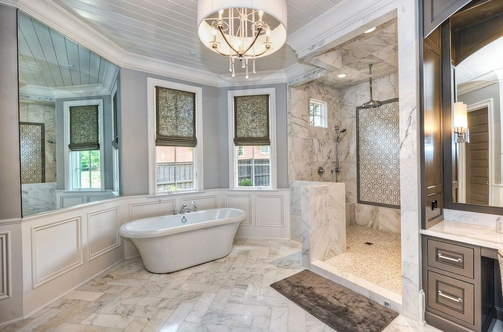 Hyatt Charlotte Nc for a Transitional Bathroom with a Interior Trim and New Home in Charlotte Nc by Hhc Construction