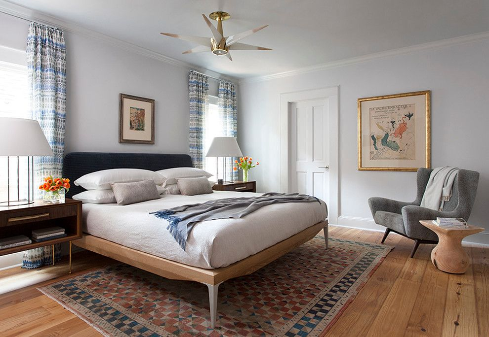 Hyde Park Pittsburgh for a Contemporary Bedroom with a Night Stand and Hyde Park Bungalow by Cravotta Interiors