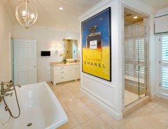 Hyde Park Pittsburgh for a Traditional Bathroom with a Crown Molding and Hyde Park Addition & Renovation by Camery Hensley Construction, Ltd