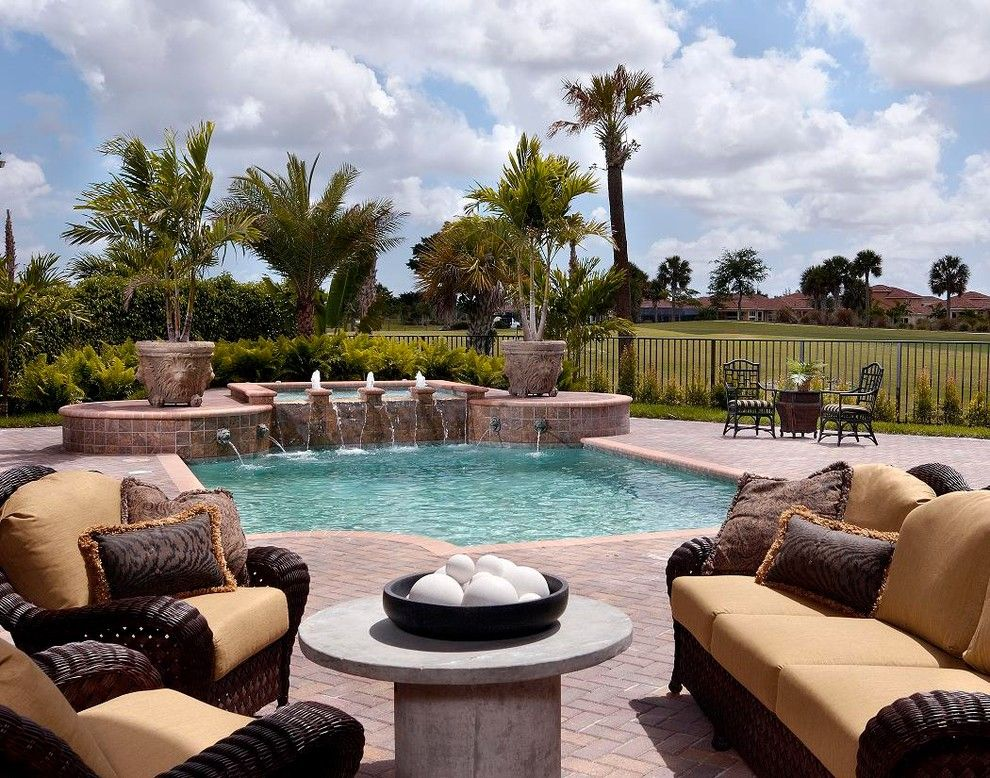 Ibis Golf and Country Club for a Contemporary Pool with a Hot Tub and Ibis Golf & Country Club by Dreamstar Custom Homes