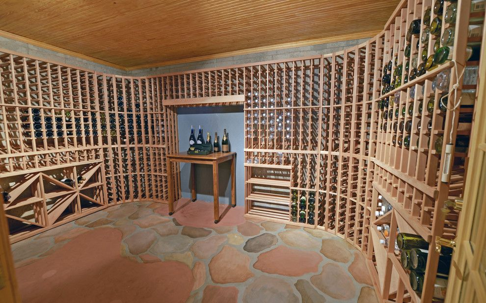 Ibis Golf and Country Club for a Traditional Wine Cellar with a St Ives and St. Ives Country Club Custom Homes by Envision Web