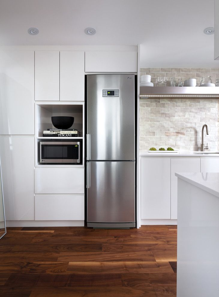 Ikea Canton Mi for a Contemporary Kitchen with a Kitchen and Condo Renovation: Kitchen and Bath by Toronto Interior Design Group | Yanic Simard