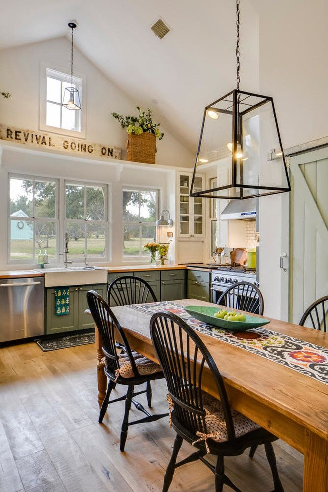 Ikea Canton Mi for a Farmhouse Kitchen with a Modern Farmhouse and Paleface Ranch by Van Wicklen Design