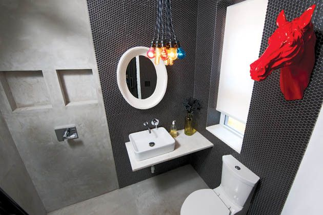 Ikea Cleveland for a Contemporary Bathroom with a Remodeling and Rock Out by Housetrends Magazine