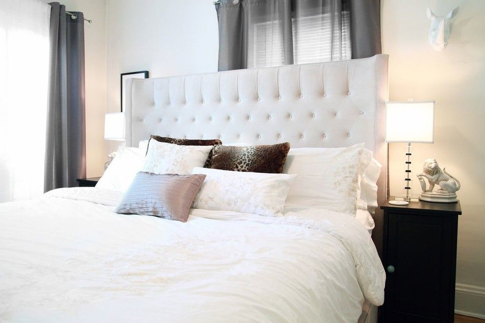 Ikea Cleveland for a Contemporary Bedroom with a Interior Design and Master Suite by Luxe Interiors by Tiffany