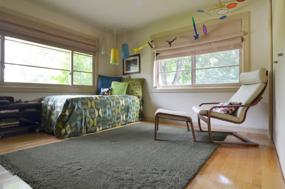 Ikea Dallas Tx for a Midcentury Kids with a Bedroom and Rick & Susan Hibbs by Sarah Greenman