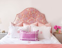 Ikea Duvet Cover for a Eclectic Bedroom with a Flower Arrangement and Philadelphia Penthouse by Caitlin Wilson Design