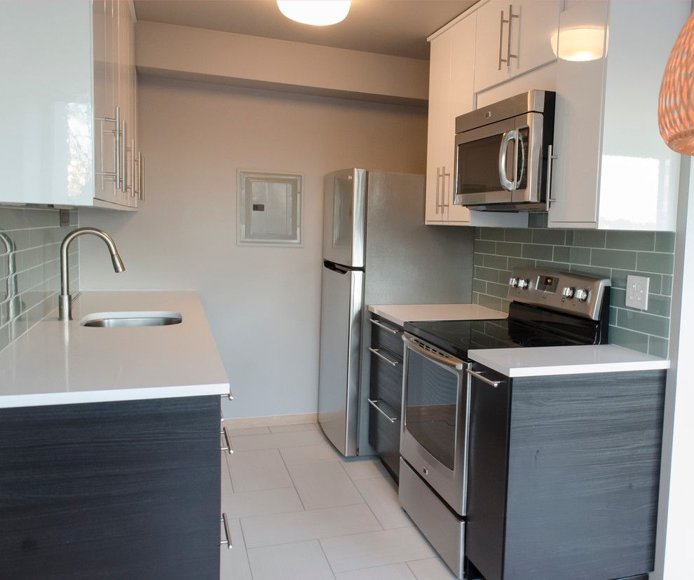 Ikea Hours Seattle for a Contemporary Kitchen with a Kitchen and Small Seattle Kitchen by Nw Homeworks