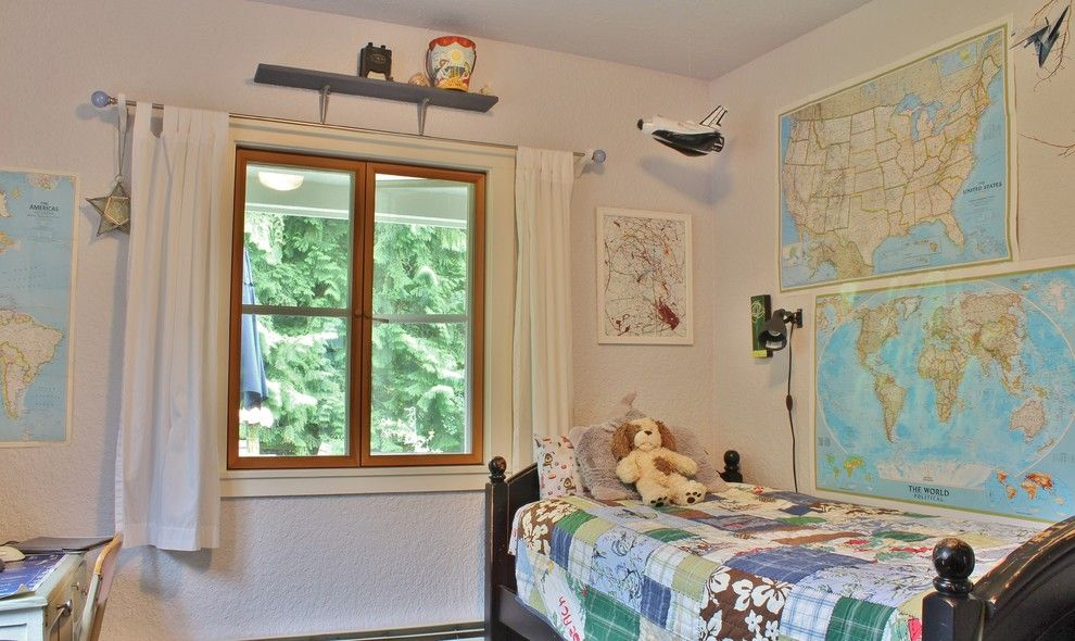 Ikea Hours Seattle for a Farmhouse Kids with a White Kitchen and My Houzz: Busy Family Farmhouse by Kimberley Bryan