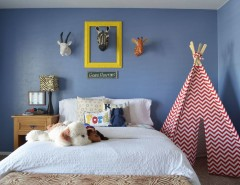 Ikea Malm Bed Frame for a Traditional Kids with a Teepee and Dallas, TX: Tyler & Crispin Deneault by Sarah Greenman