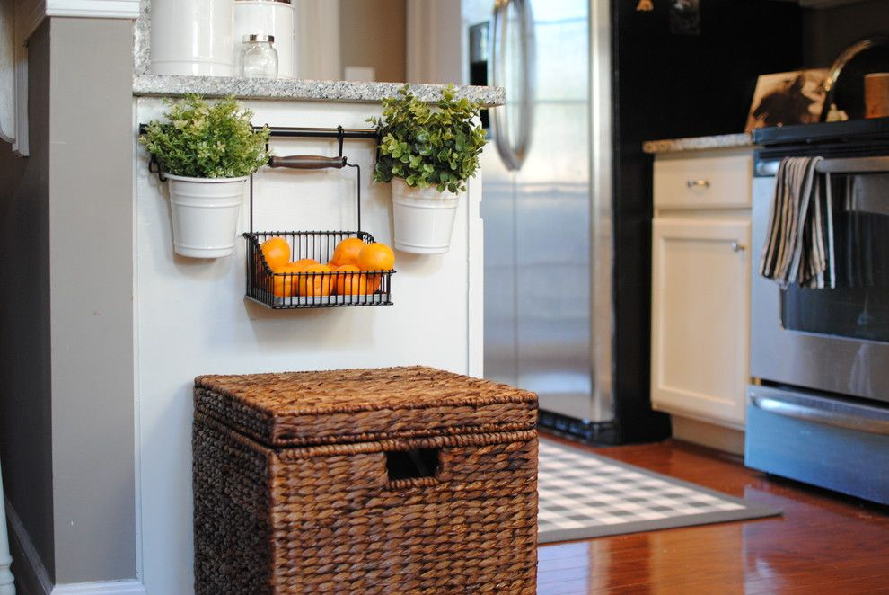 Ikea Planters for a Traditional Kitchen with a Traditional and Kitchen by Dear Lillie