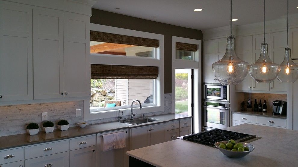 Ikea Portland Oregon for a Modern Kitchen with a Midcentury Modern House and Northwest Portland Home by Portland Millwork, Inc.