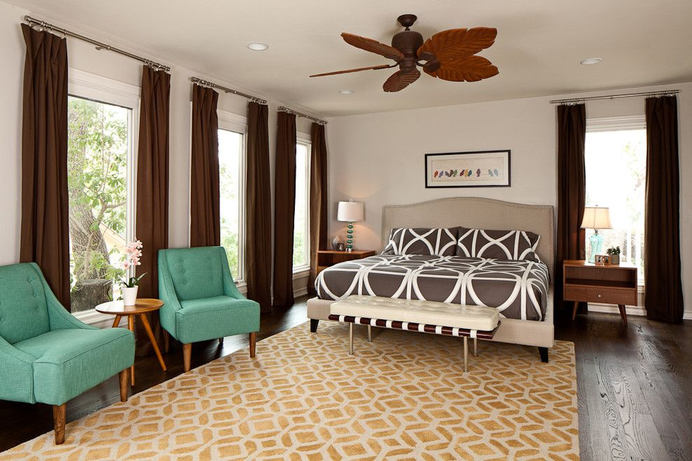 Ikea Rugs Usa for a Modern Bedroom with a Turquoise and Ran Master Bedroom by Alexis Lane Sanders Portfolio