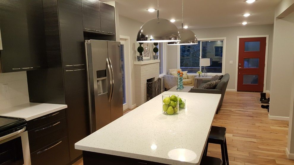 Ikea Seattle Hours for a Contemporary Spaces with a Ikea Kitchen and Gatewood Renovation and Addition by Maltom, Inc.