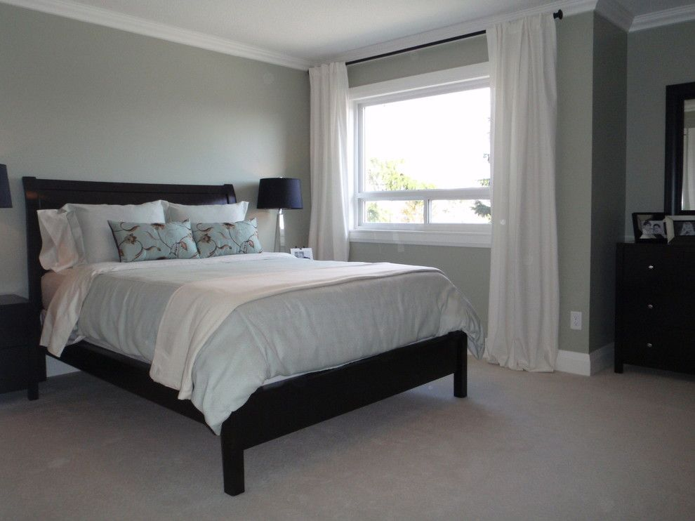 Ikea Sultan Mattress for a Transitional Bedroom with a Tsawwassen Renovation and Beach Grove Renovation by Emily Hagerman Design