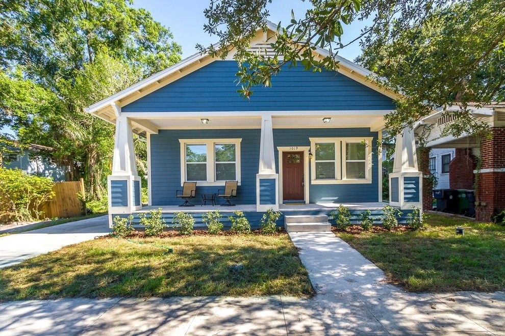 Ikea Tampa Fl for a Contemporary Spaces with a Tampa Bungalow and Tampa, FL- Bungalow by Stress Free Construction, LLC