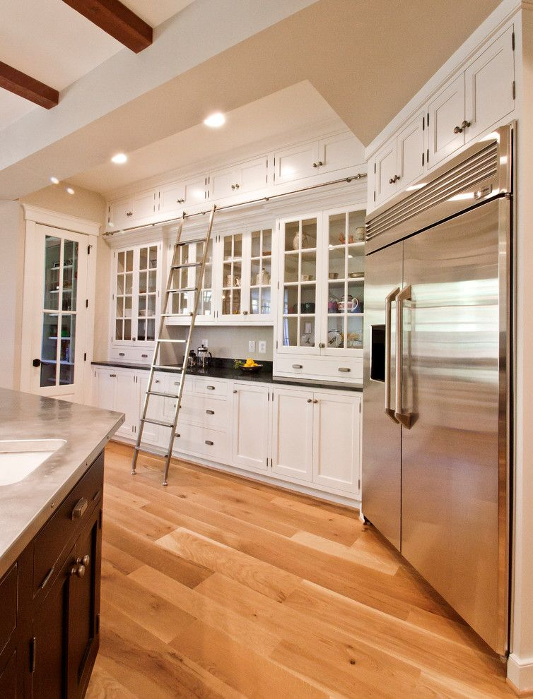 Imarc for a Traditional Kitchen with a Hammered Steel and Milne Kitchen 4 by Cameo Kitchens, Inc.
