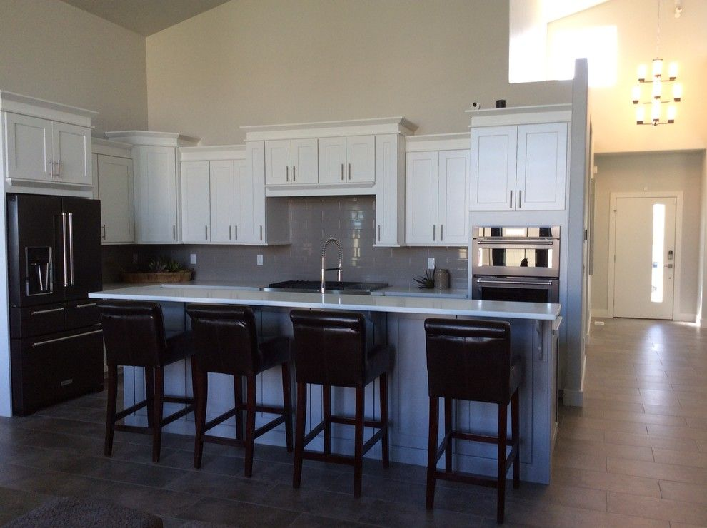 Imax Accessories for a Modern Kitchen with a Quoizel and Design Projects by the Village Shoppe