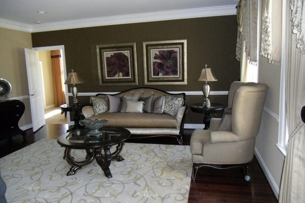Imax Accessories for a Traditional Living Room with a Picture Galleries and Northville Residence I by White Furniture