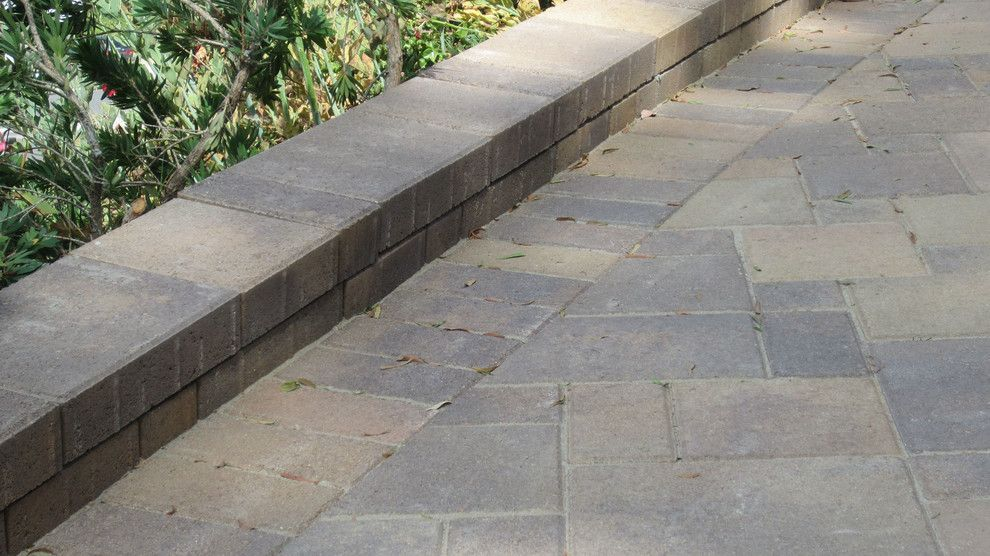 Infiniti Thousand Oaks for a Traditional Patio with a Steps and Thousand Oaks   Sloped Driveway   Orco   Villa – Tuscany   After 4 by Go Pavers