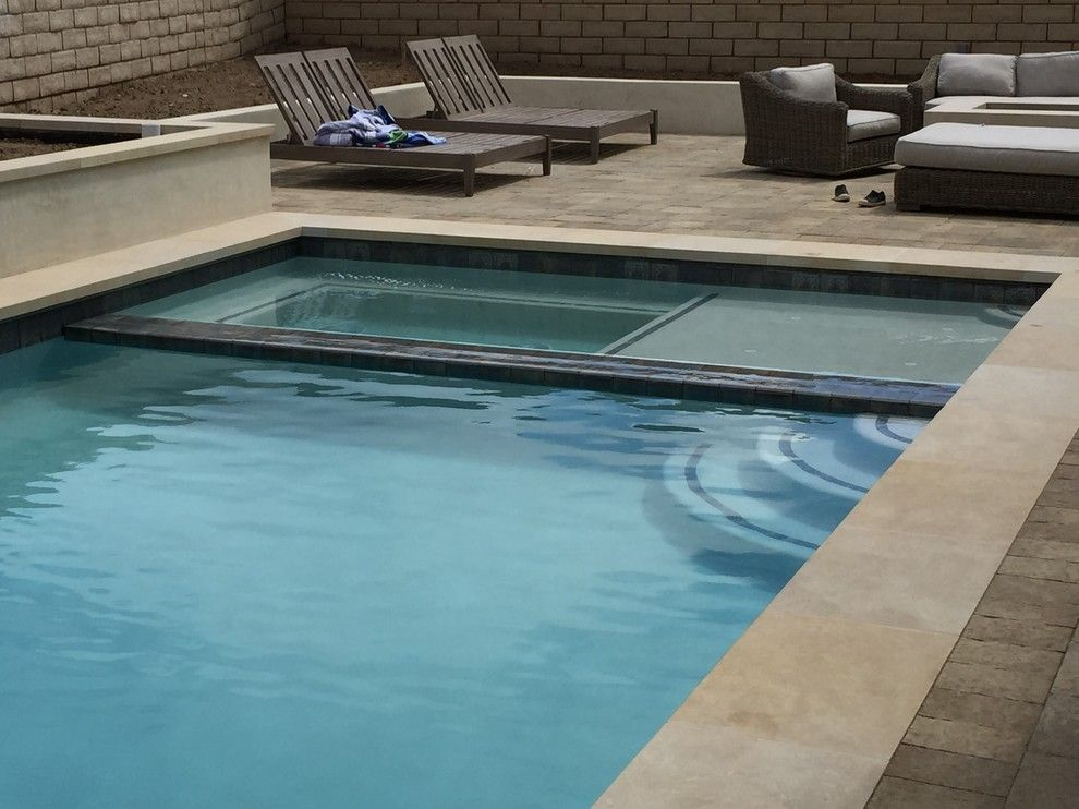 Infiniti Thousand Oaks for a Traditional Spaces with a Epik and Swimming Pool Thousand Oaks by Epik Masonry & Concrete Inc.