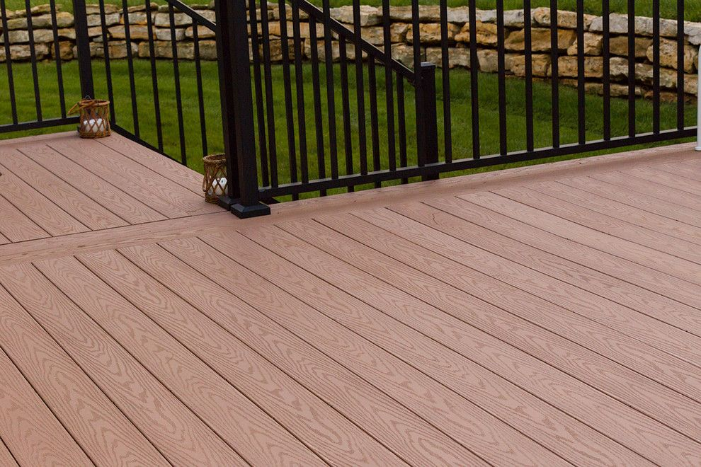 Inteplast for a Traditional Deck with a Cast Iron Patio Furniture and BEAUTIFUL DECKS by Creative Concepts & Design, LLC