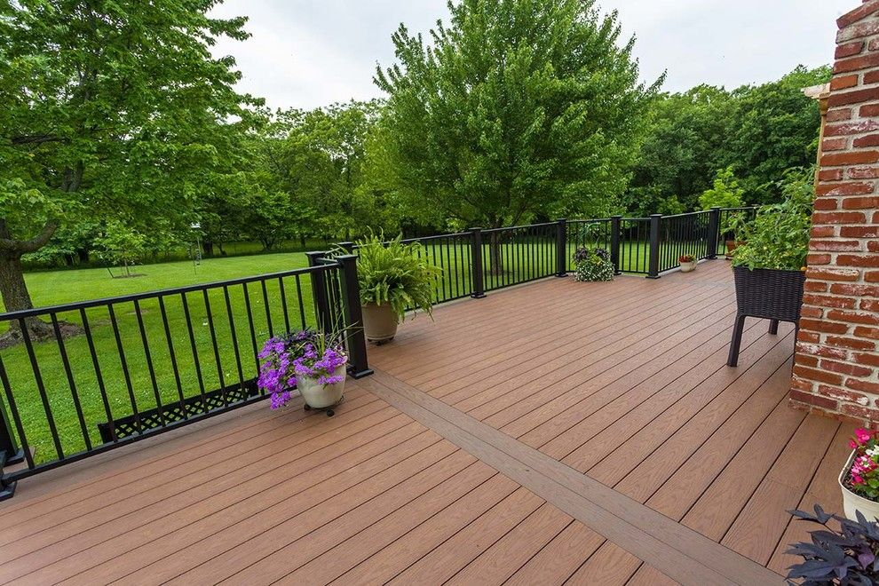 Inteplast for a Traditional Deck with a Potted Plants and Beautiful Decks by Creative Concepts & Design, Llc