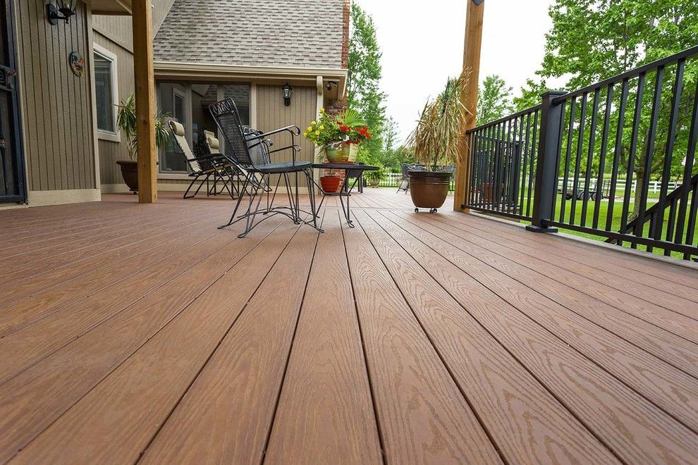 Inteplast for a Traditional Deck with a Second Story Deck and Beautiful Decks by Creative Concepts & Design, Llc