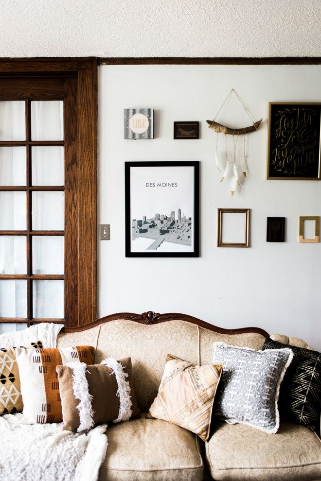 Iowa Realty Des Moines Ia for a Eclectic Living Room with a Eclectic and My Own Home. by Paige Harris for Ethan Allen Des Moines Ia