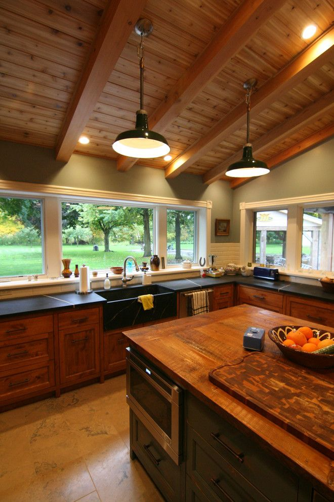 Ippolitos for a Farmhouse Kitchen with a Antique and Ippolito Cottage by Smpl Design Studio