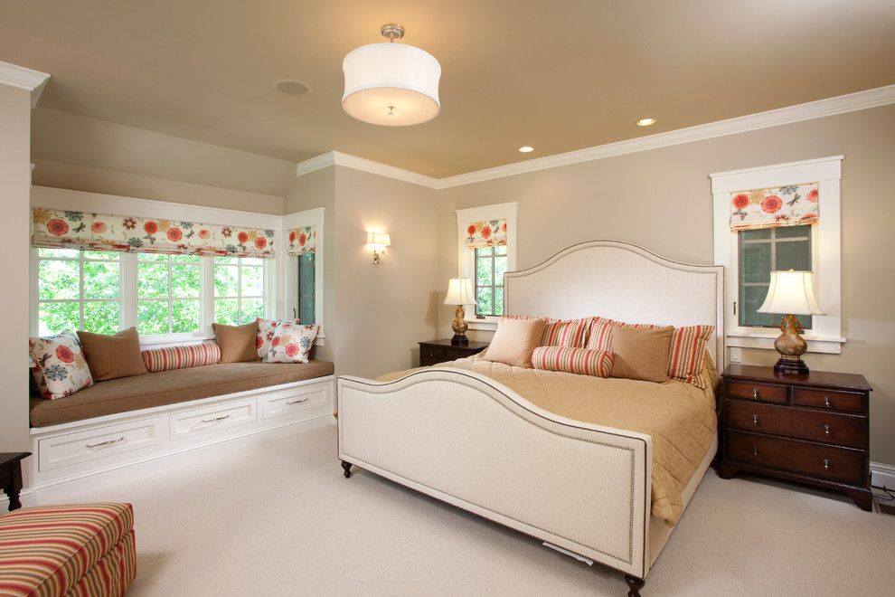 Ironwood Country Club for a Traditional Bedroom with a Fabric Shades and Interlachen Country Club (Edina) by John Kraemer & Sons