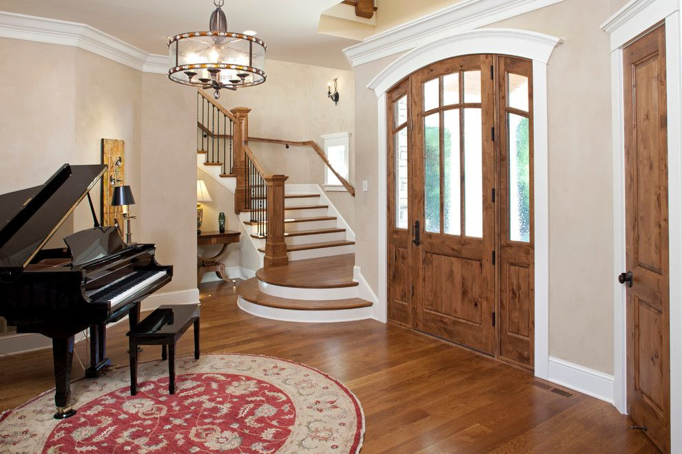 Ironwood Country Club for a Traditional Entry with a Staircase and Interlachen Country Club (Edina) by John Kraemer & Sons