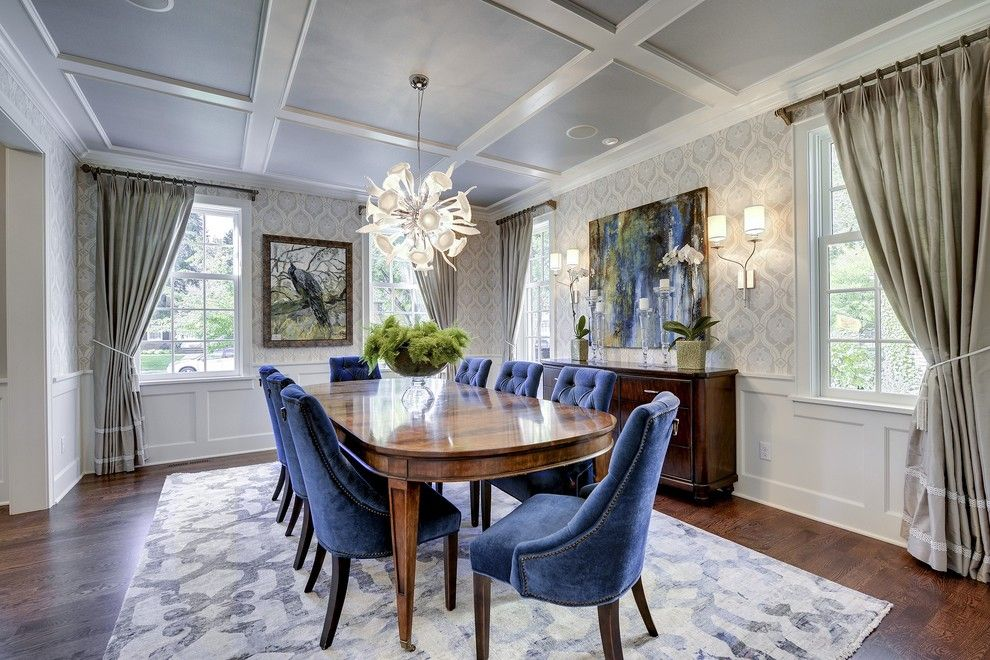 Ironwood Country Club for a Transitional Dining Room with a Gray Curtains and Country Club Project Remodel by Great Neighborhood Homes