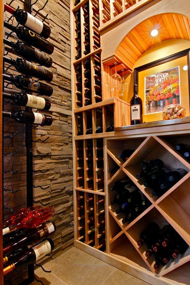 Issaquah Glass for a Contemporary Wine Cellar with a Custom Wine Cellar and Issaquah, Wa, Wine Cellar, Dsb by Inviniti Cellar Design