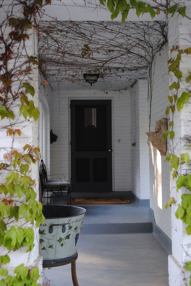 Ivy Hotel Minneapolis for a Traditional Entry with a Painted Brick and Entrance by Marie Meko, Allied Asid