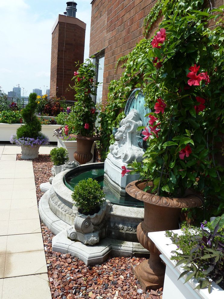 Ivy Hotel Minneapolis for a Traditional Landscape with a Large Planters and Rooftop Gardens by Sage Landscape Design