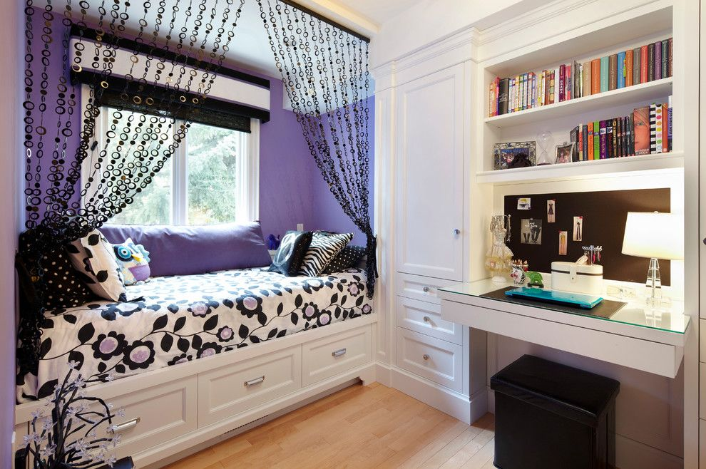 J Geils Band Love Stinks for a Traditional Kids with a Black Bead Curtains and Executive Retreat by Parkyn Design