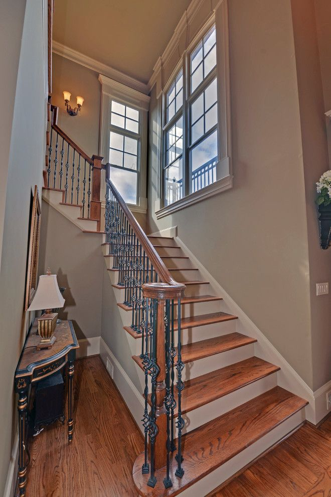 Jackson Hole Golf and Tennis for a  Staircase with a Edinburgh and Edinburgh Custom Homes Suwanee, Georgia by Envision Web