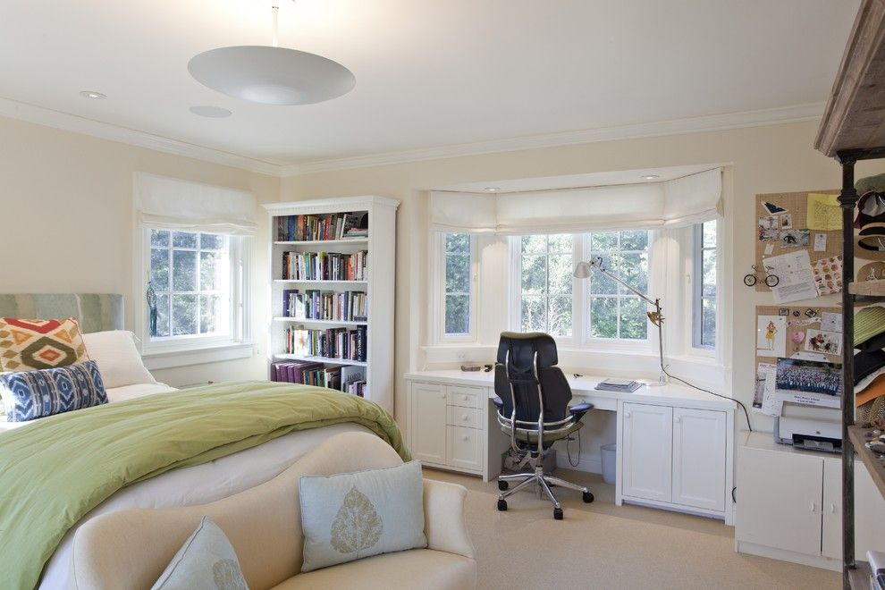 Jadon for a Traditional Bedroom with a Wood Molding and Piedmont Residence by Matarozzi Pelsinger Builders