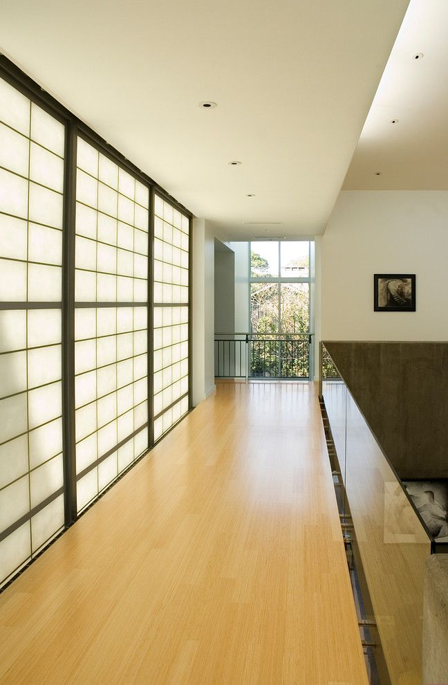 Japanica for a Modern Hall with a Zen and Ramchandani Residence by Intexure Architects