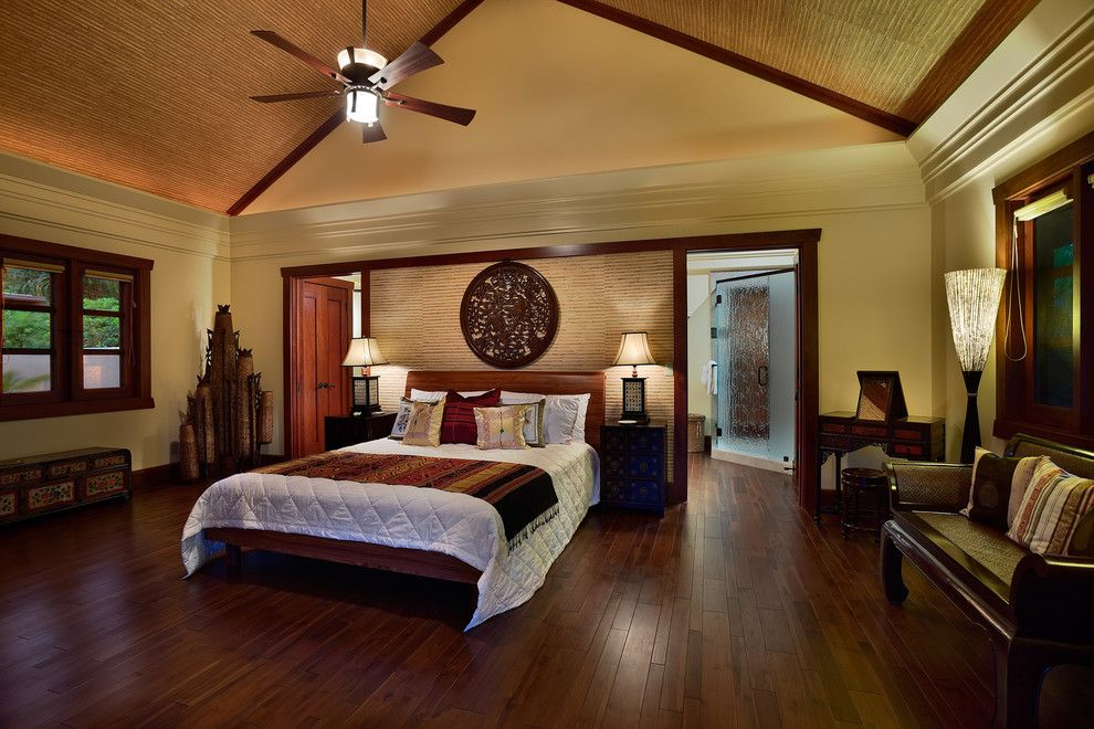 Jatoba for a Asian Bedroom with a Bedroom and Casita by Architectural Design & Construction