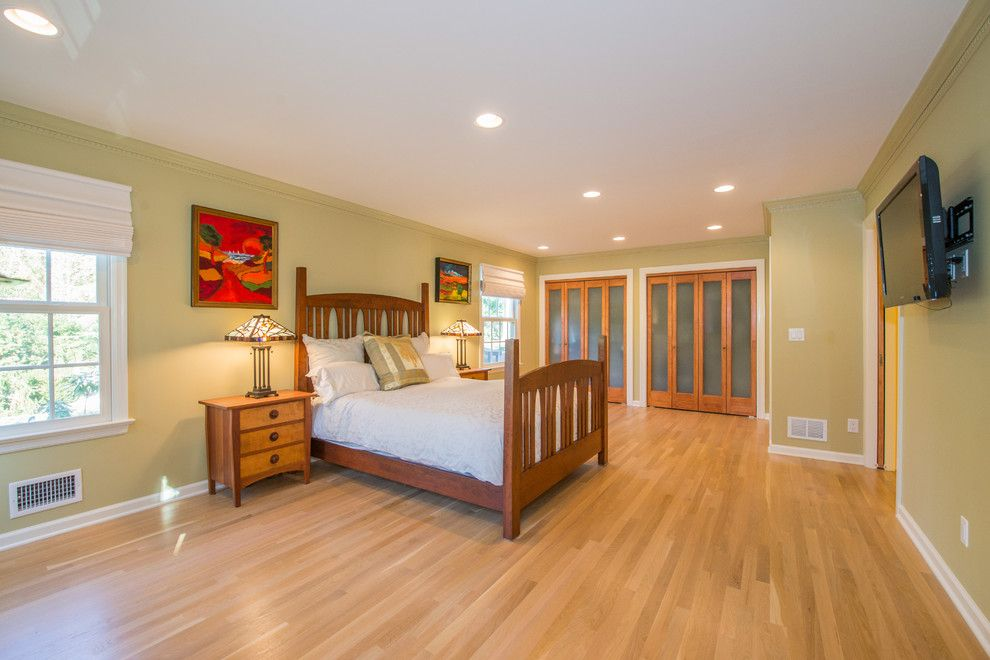 Jmc Homes for a Craftsman Bedroom with a Sliding Doors and Universal Design Master Suite & Bathroom Remodel by Jmc Home Remodeling