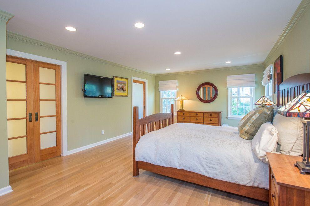 Jmc Homes for a Craftsman Bedroom with a Sliding Doors and Universal Design Master Suite & Bathroom Remodel by Jmc Home Remodeling